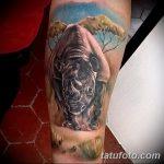 фото тату носорог от 29.09.2017 №156 - rhino tattoo - tatufoto.com