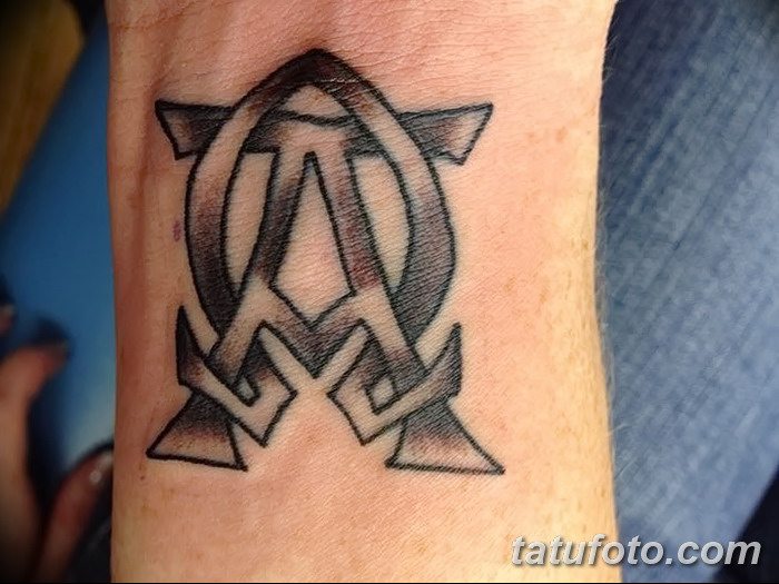 фото тату омега от 12.09.2017 №006 - tattoo omega - tatufoto.com