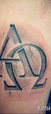 фото тату омега от 12.09.2017 №008 – tattoo omega – tatufoto.com