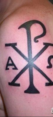 фото тату омега от 12.09.2017 №009 – tattoo omega – tatufoto.com