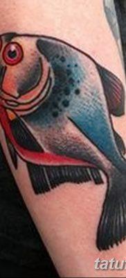 фото тату пиранья от 15.09.2017 №016 – tattoo piranha – tatufoto.com
