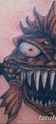 фото тату пиранья от 15.09.2017 №038 – tattoo piranha – tatufoto.com