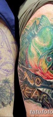 фото тату пиранья от 15.09.2017 №050 – tattoo piranha – tatufoto.com