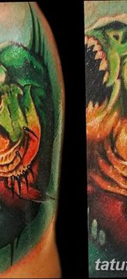 фото тату пиранья от 15.09.2017 №053 – tattoo piranha – tatufoto.com
