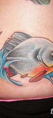 фото тату пиранья от 15.09.2017 №056 – tattoo piranha – tatufoto.com