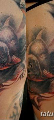 фото тату пиранья от 15.09.2017 №062 – tattoo piranha – tatufoto.com