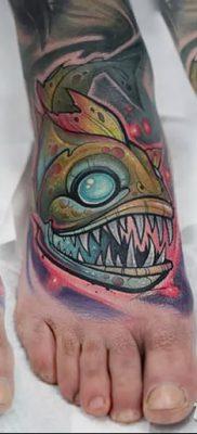 фото тату пиранья от 15.09.2017 №063 – tattoo piranha – tatufoto.com