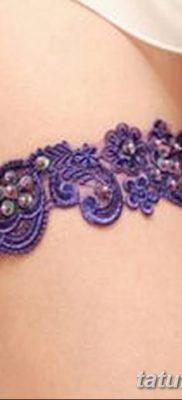 фото тату подвязка от 03.09.2017 №003 – Garter Tattoo – tatufoto.com