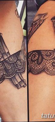фото тату подвязка от 03.09.2017 №008 – Garter Tattoo – tatufoto.com