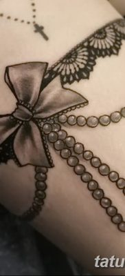 фото тату подвязка от 03.09.2017 №145 – Garter Tattoo – tatufoto.com
