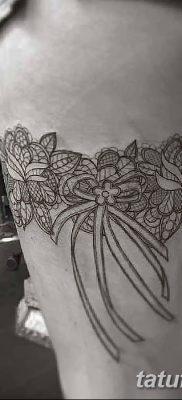фото тату подвязка от 03.09.2017 №173 – Garter Tattoo – tatufoto.com