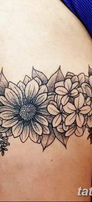фото тату подвязка от 03.09.2017 №174 – Garter Tattoo – tatufoto.com
