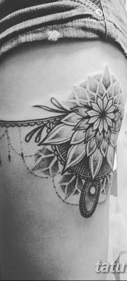фото тату подвязка от 03.09.2017 №182 – Garter Tattoo – tatufoto.com