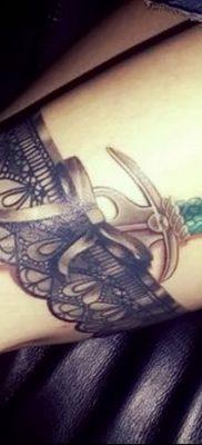 фото тату подвязка от 03.09.2017 №189 – Garter Tattoo – tatufoto.com