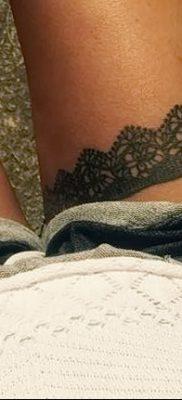 фото тату подвязка от 03.09.2017 №192 – Garter Tattoo – tatufoto.com