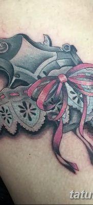 фото тату подвязка от 03.09.2017 №203 – Garter Tattoo – tatufoto.com