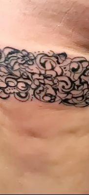 фото тату подвязка от 03.09.2017 №208 – Garter Tattoo – tatufoto.com