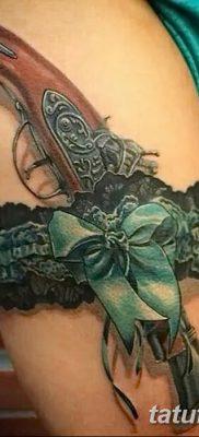 фото тату подвязка от 03.09.2017 №217 – Garter Tattoo – tatufoto.com