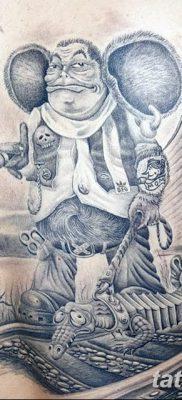 фото тату чебурашка от 08.09.2017 №013 – пример рисунка для статьи – tatufoto.com