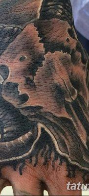 фото тату череп козы от 20.09.2017 №010 – goat skull tattoo – tatufoto.com