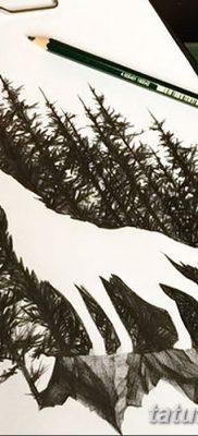 фото тату черный волк от 13.09.2017 №008 – black wolf tattoo – tatufoto.com