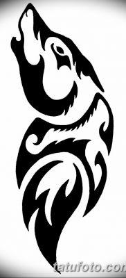 фото тату черный волк от 13.09.2017 №012 – black wolf tattoo – tatufoto.com