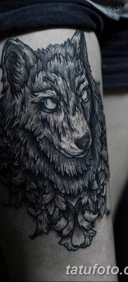 фото тату черный волк от 13.09.2017 №014 – black wolf tattoo – tatufoto.com