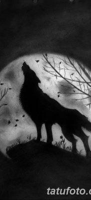 фото тату черный волк от 13.09.2017 №028 – black wolf tattoo – tatufoto.com