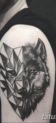 фото тату черный волк от 13.09.2017 №035 – black wolf tattoo – tatufoto.com