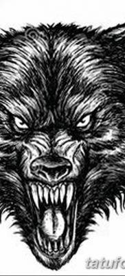 фото тату черный волк от 13.09.2017 №037 – black wolf tattoo – tatufoto.com