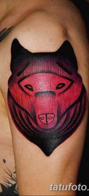 фото тату черный волк от 13.09.2017 №046 – black wolf tattoo – tatufoto.com