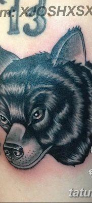 фото тату черный волк от 13.09.2017 №049 – black wolf tattoo – tatufoto.com