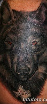 фото тату черный волк от 13.09.2017 №053 – black wolf tattoo – tatufoto.com