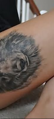 фото тату черный волк от 13.09.2017 №055 – black wolf tattoo – tatufoto.com