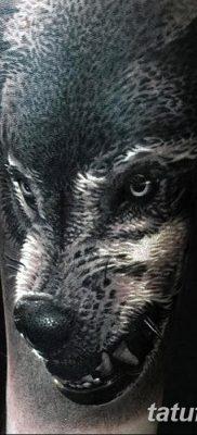 фото тату черный волк от 13.09.2017 №062 – black wolf tattoo – tatufoto.com