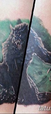 фото тату черный волк от 13.09.2017 №067 – black wolf tattoo – tatufoto.com