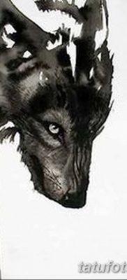 фото тату черный волк от 13.09.2017 №068 – black wolf tattoo – tatufoto.com