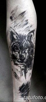 фото тату черный волк от 13.09.2017 №072 – black wolf tattoo – tatufoto.com
