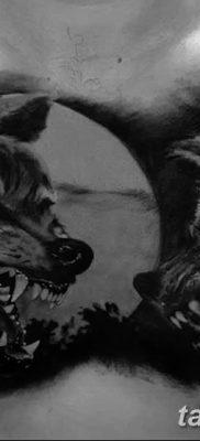 фото тату черный волк от 13.09.2017 №082 – black wolf tattoo – tatufoto.com