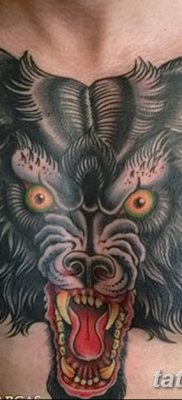 фото тату черный волк от 13.09.2017 №087 – black wolf tattoo – tatufoto.com
