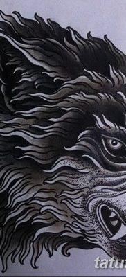 фото тату черный волк от 13.09.2017 №088 – black wolf tattoo – tatufoto.com