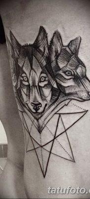 фото тату черный волк от 13.09.2017 №094 – black wolf tattoo – tatufoto.com