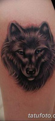 фото тату черный волк от 13.09.2017 №096 – black wolf tattoo – tatufoto.com