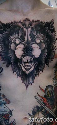 фото тату черный волк от 13.09.2017 №099 – black wolf tattoo – tatufoto.com