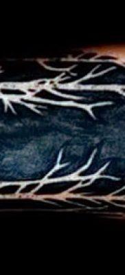 фото тату черный волк от 13.09.2017 №100 – black wolf tattoo – tatufoto.com