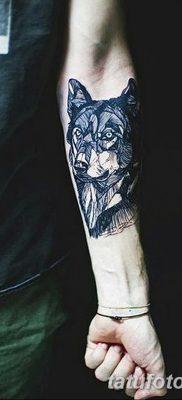 фото тату черный волк от 13.09.2017 №102 – black wolf tattoo – tatufoto.com