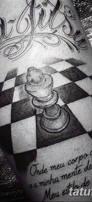 фото тату шахматы от 16.09.2017 №021 – tattoo chess – tatufoto.com