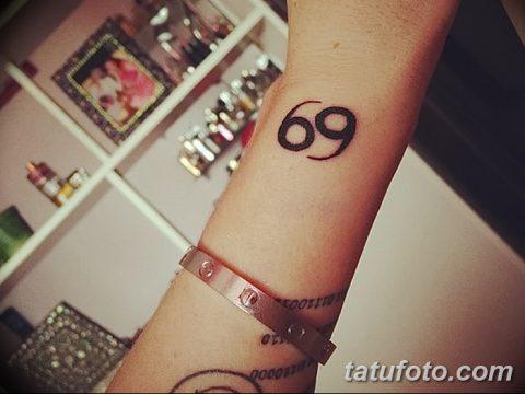 фото тату 69 от 23.09.2017 №009 - tattoo 69 - tatufoto.com