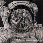 фото эскизы для тату космос от 26.09.2017 №001 - sketches for tattoo space - tatufoto.com