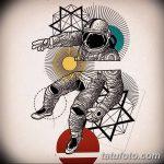 фото эскизы для тату космос от 26.09.2017 №005 - sketches for tattoo space - tatufoto.com